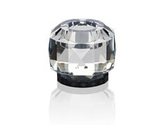 - Crystal candle holder TEXAS - CLEAR / BLACK - Reflections Copenhagen