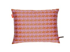 - Fabric cushion REPEAT CLASSIC HOUNDSTOOTH PINK - Vitra