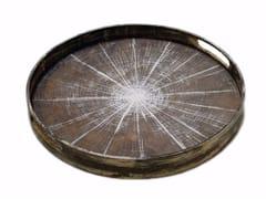 - Round wooden tray SLICE | Round tray - Notre Monde