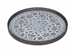 - Round wooden tray MARRAKECH - Notre Monde