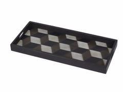 - Rectangular wooden tray TILE   Rectangular tray - Notre Monde