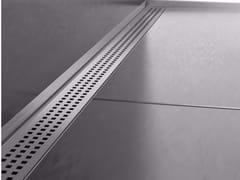 Scarico per doccia in acciaio inoxTHIN DRAIN CUBE COVER - PROFILPAS