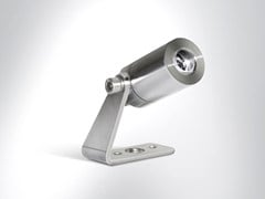 - LED adjustable stainless steel Outdoor floodlight TITO 25 - Arcluce