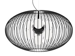 - Powder coated steel pendant lamp TITTI | Pendant lamp - Gibas