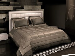 - Leather storage bed with upholstered headboard TL 250 | Double bed - Tonino Lamborghini Casa by Formitalia Group