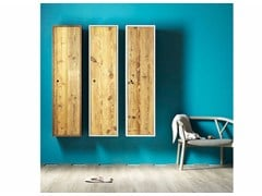 - Wooden wall cabinet TOLA | Contemporary style wall cabinet - Miniforms