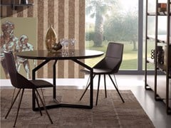 - Round wooden table TOLOMEO | Round table - Esedra by Prospettive