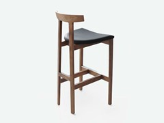 - High wooden stool TORII BAR | Stool - BENSEN