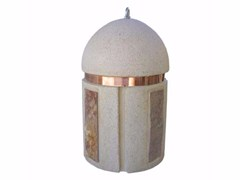 Dissuasore fisso in pietra ricostruitaTORPEDO | Dissuasore in pietra di Apricena - MANUFATTI VISCIO