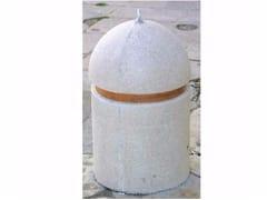 Dissuasore fisso in pietra ricostruitaTORPEDO | Dissuasore in pietra ricostruita - MANUFATTI VISCIO