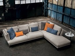 - Sectional sofa with chaise longue TORTONA | Sectional sofa - Max Divani