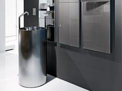 - Freestanding stainless steel washbasin TOWER 85 - MAKRO