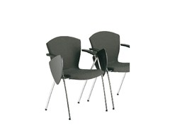 - Fabric training chair with writing tablet TA-CHERIE | Training chair with writing tablet - Sesta