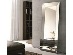 - Rectangular framed mirror TRAPEZIO | Freestanding mirror - RIFLESSI