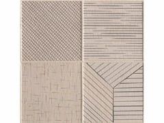 - Porcelain stoneware wall/floor tiles TRATTI MIX CHIARO - MUTINA