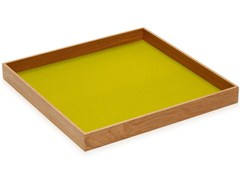 - Square wooden tray Tray - HEY-SIGN