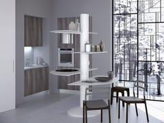 - Cucina componibile laccata TREESTYLE ONE - Oikos Cucine