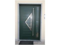 - Glass and aluminium door panel TRIANGOLO/X1 - ROYAL PAT