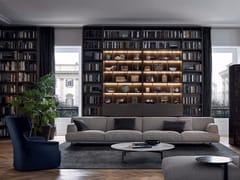 - Sectional fabric sofa TRIBECA | Fabric sofa - Poliform
