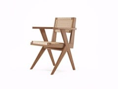- Reclaimed Teak Arm Chair with Woven Danish Paper Cord TRIBUTE | Chair - KARPENTER