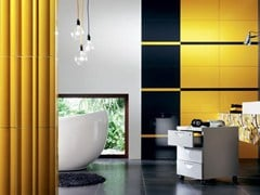 - Indoor wall tiles TUBADZIN COLOUR YELLOW - TUBADZIN