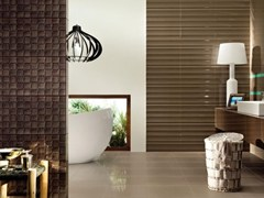 - Indoor wall tiles TUBADZIN COLOUR BROWN - TUBADZIN