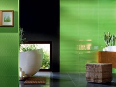 - Indoor wall tiles TUBADZIN COLOUR GREEN - TUBADZIN
