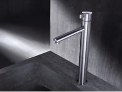 - Miscelatore per lavabo da piano monocomando in acciaio inox TXQ3 | Miscelatore per lavabo - Radomonte