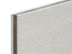 - Sound insulation and sound absorbing panel in mineral fibre TXT® Woodgipsline - ETERNO IVICA
