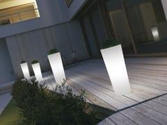 Vaso da giardino alto luminosoTYBALT - MOBIKA GARDEN