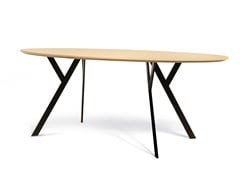 - Oval wooden table TYPUS | Oval table - WILDE+SPIETH Designmöbel