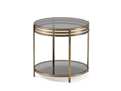 - Brass side table ULA | Brass coffee table - Arketipo