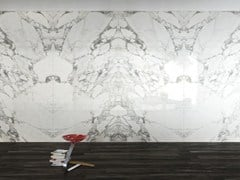 - Wall/floor tiles with marble effect ULTRA MARMI │ Arabescato Statuario - ARIOSTEA