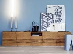 Tavolo rettangolare in legno massello CASTLE - Devina Nais