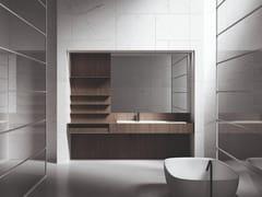 Mobile lavabo con specchioUPPER WALL | Mobile lavabo - BOFFI