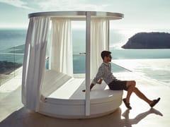 - Canopy double round garden bed VELA | Canopy garden bed - VONDOM