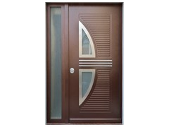 - Glass and aluminium armoured door panel VELE/X2+JOLLY/XA1 - ROYAL PAT