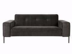 - Tufted upholstered 2 seater velvet sofa VILLE | Velvet sofa - SITS