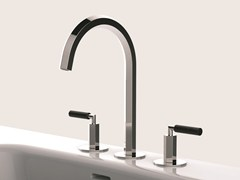 - 3 hole countertop washbasin tap VENEZIA | Washbasin tap - Fantini Rubinetti