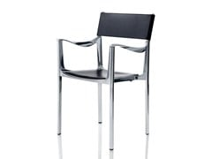 - Stackable chair with armrests VENICE | Chair - Magis