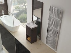 - Low temperature wall-mounted chrome plated steel towel warmer VENUS | Chrome towel warmer - IRSAP