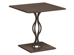 - Square steel garden table VERA | Square table - EMU Group S.p.A.