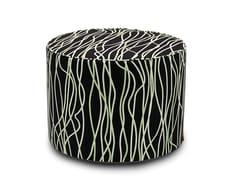 Pouf cilindro in tessuto jacquardVERBANIA | Pouf - MISSONIHOME