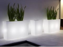 Vaso da giardino alto luminosoVERONA - MOBIKA GARDEN
