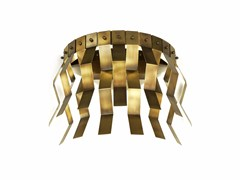 - LED brass wall lamp VERONICA | Brass wall lamp - MARIONI