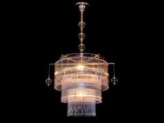 - Lampadario a luce diretta fatta a mano in ottone VERSAILLES I | Lampada a sospensione - Patinas Lighting