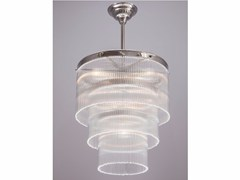- Direct light handmade nickel chandelier VERSAILLES III | Nickel pendant lamp - Patinas Lighting