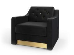 - Tufted fabric armchair VICTOR | Armchair - MARIONI
