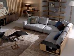 - Corner sectional fabric sofa VICTOR | Corner sofa - Esedra by Prospettive