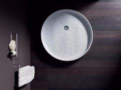 Piatto doccia circolare in ceramicaVICTORIA - NIC DESIGN